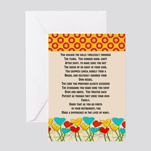 Retired Nurse Greeting Cards