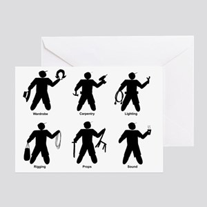 Universal Theatre Identifiers Greeting Card