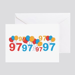 97 years old - 97th Birthday Greeting Cards