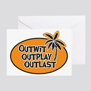 outwit-01 Greeting Card