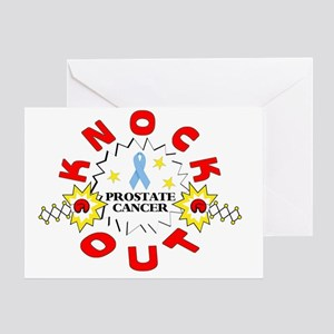 knockout-prostatecancer Greeting Card
