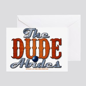 thedudeabides Greeting Card
