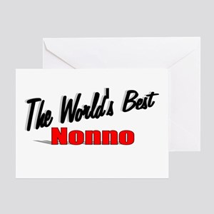 """The World's Best Nonno"" Greeting Card"