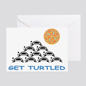 GET TURTLE-D Greeting Card