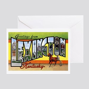 Lexington Kentucky Greetings Greeting Card