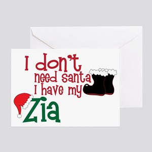 I Have My Zia Greeting Card