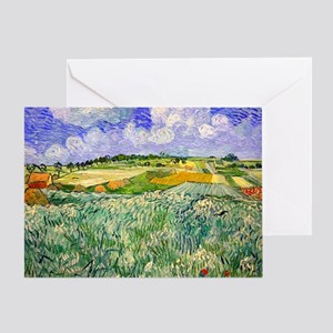 Cal VanGogh H12 Greeting Card