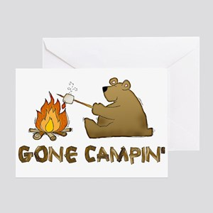 Gone Campin' Greeting Card