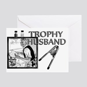 TrophyHusband banner Greeting Card