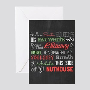 Griswold Nuthouse Chalkboard Greeting Cards