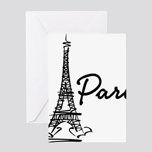 2-paris Greeting Card