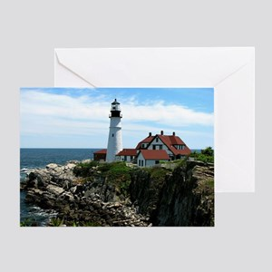 Portland, Maine Lighthouse Greeting Card