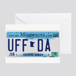 "Minnesota ""Uffda"" Greeting Card"