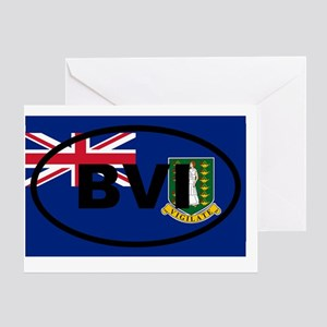 British Virgin Islands Greeting Card