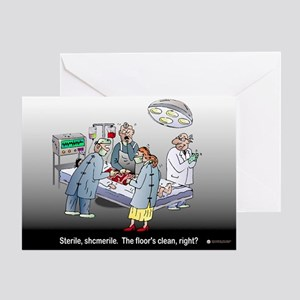 Doctor Physician Humor Greeting Card