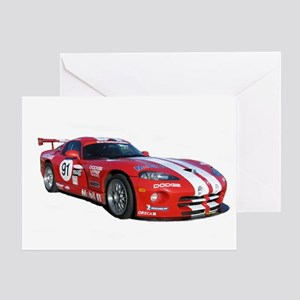 Dodge Viper Greeting Card