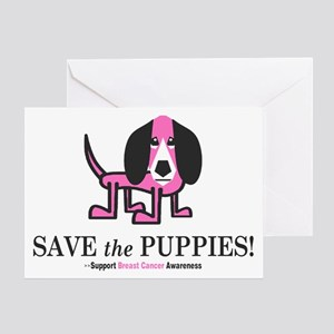Save the Puppies Greeting Card