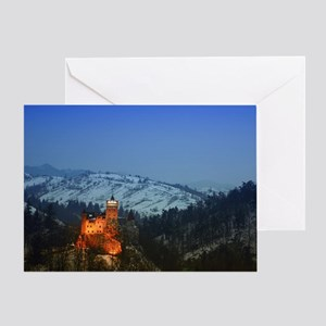 bran castle  Greeting Card