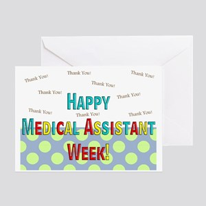 Medical Assistant Week Greeting Cards