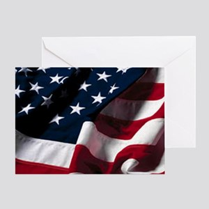 OUR FLAG Greeting Card