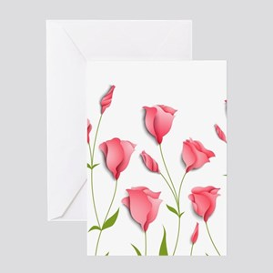 Pretty Flowers Greeting Cards