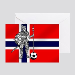 Eirik Raude Football Greeting Cards