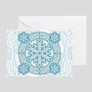 Celtic Winter Greeting Card