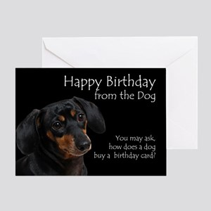 From the Dachshund Birthday Card