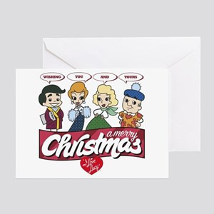 I Love Lucy: Merry Christmas Greeting Card