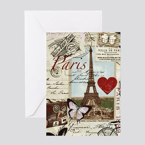 Paris Memories Greeting Cards