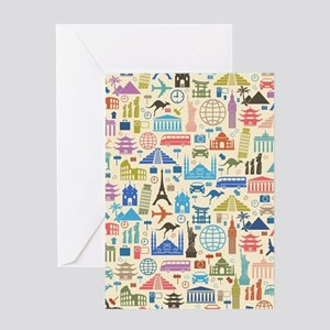 world Travel Greeting Cards