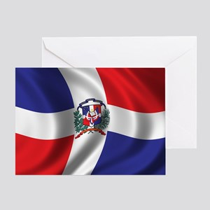 domrep_flag_01 Greeting Card