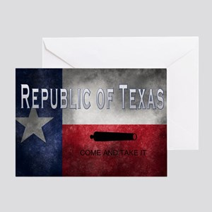 Republic of Texas Greeting Card