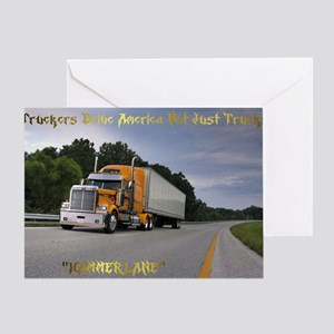 DRIVING AMERICA Greeting Card