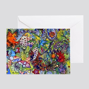 cool Paisley Greeting Card