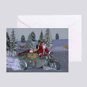 Dashing Through The Snow Greeting Cards