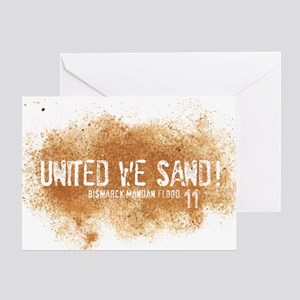 UnitedWeSand_Bismarck Greeting Card