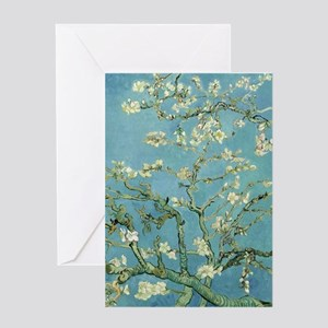 Van Gogh Almond blossom Greeting Cards