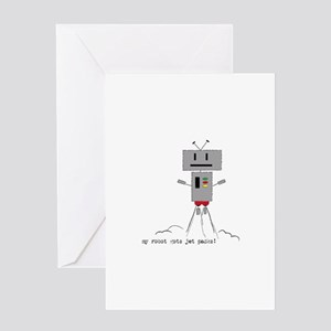 Funny Robot Sayings Greeting Cards