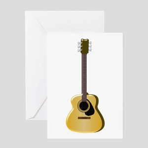 Acoustic Guitar Greeting Cards