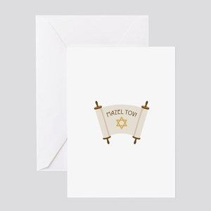 MAZEL TOV! Greeting Cards
