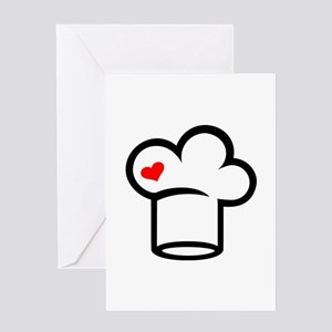 Chef hat cook Greeting Card