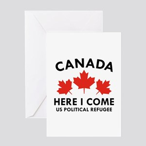 Canada Here I Come Greeting Card