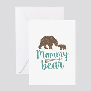 Mommy Bear Greeting Card