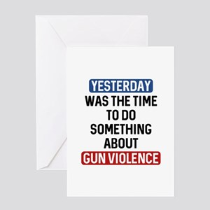 End Gun Violence Now Greeting Card