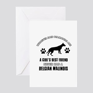 Belgian Malinois Mommy designs Greeting Card