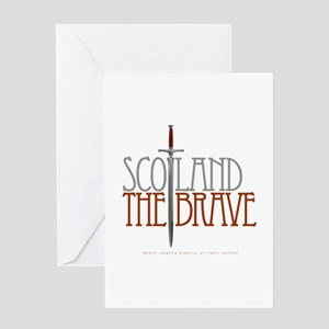 The Brave Greeting Card