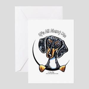 9ffe988f0 Dachshund Greeting Cards - CafePress