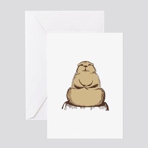 Beaver Greeting Cards