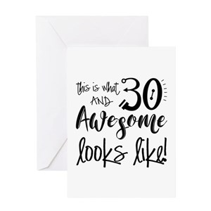Funny 30th Birthday Greeting Cards